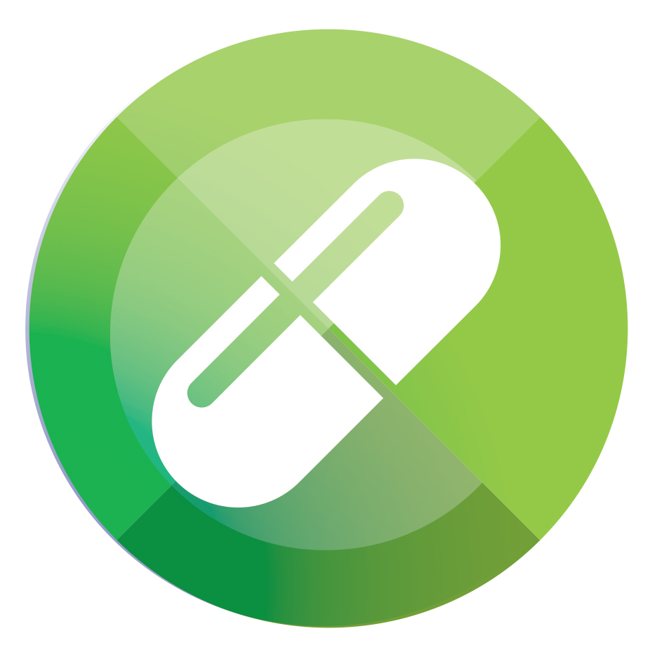 Medication safety icon