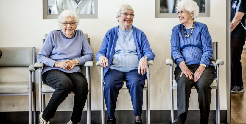 Three lovely patients who may have individual needs