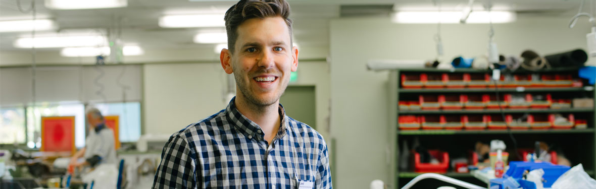 Orthotist and Prosthetist Jake Eadie