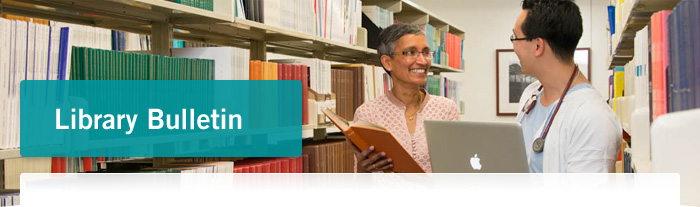 Library Bulletin header image